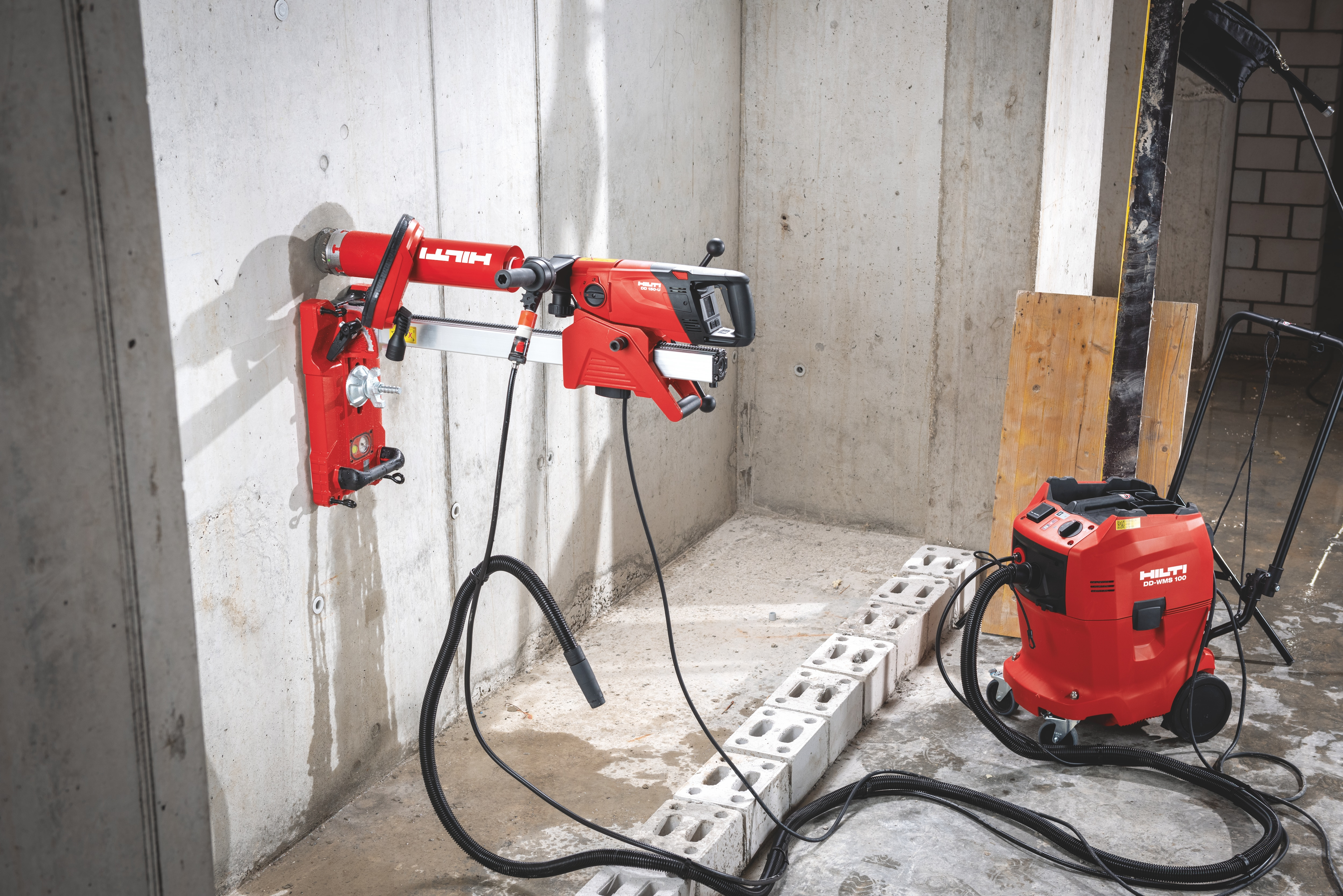 Solution de forage diamant Hilti