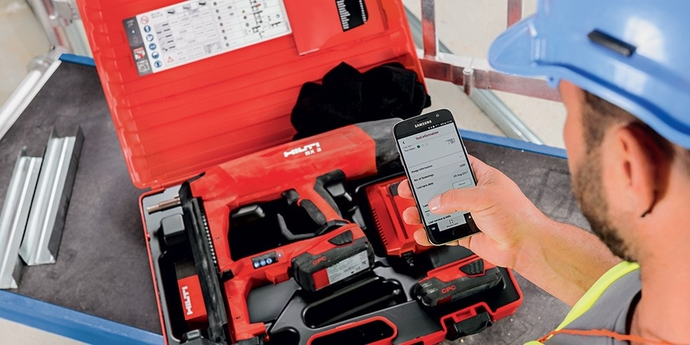 Application mobile Hilti connect