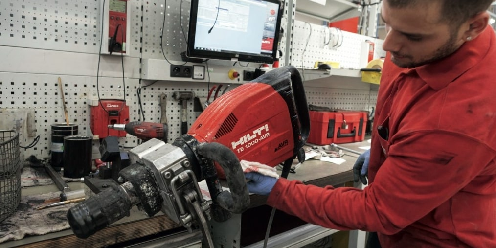 Réparation machines Hilti